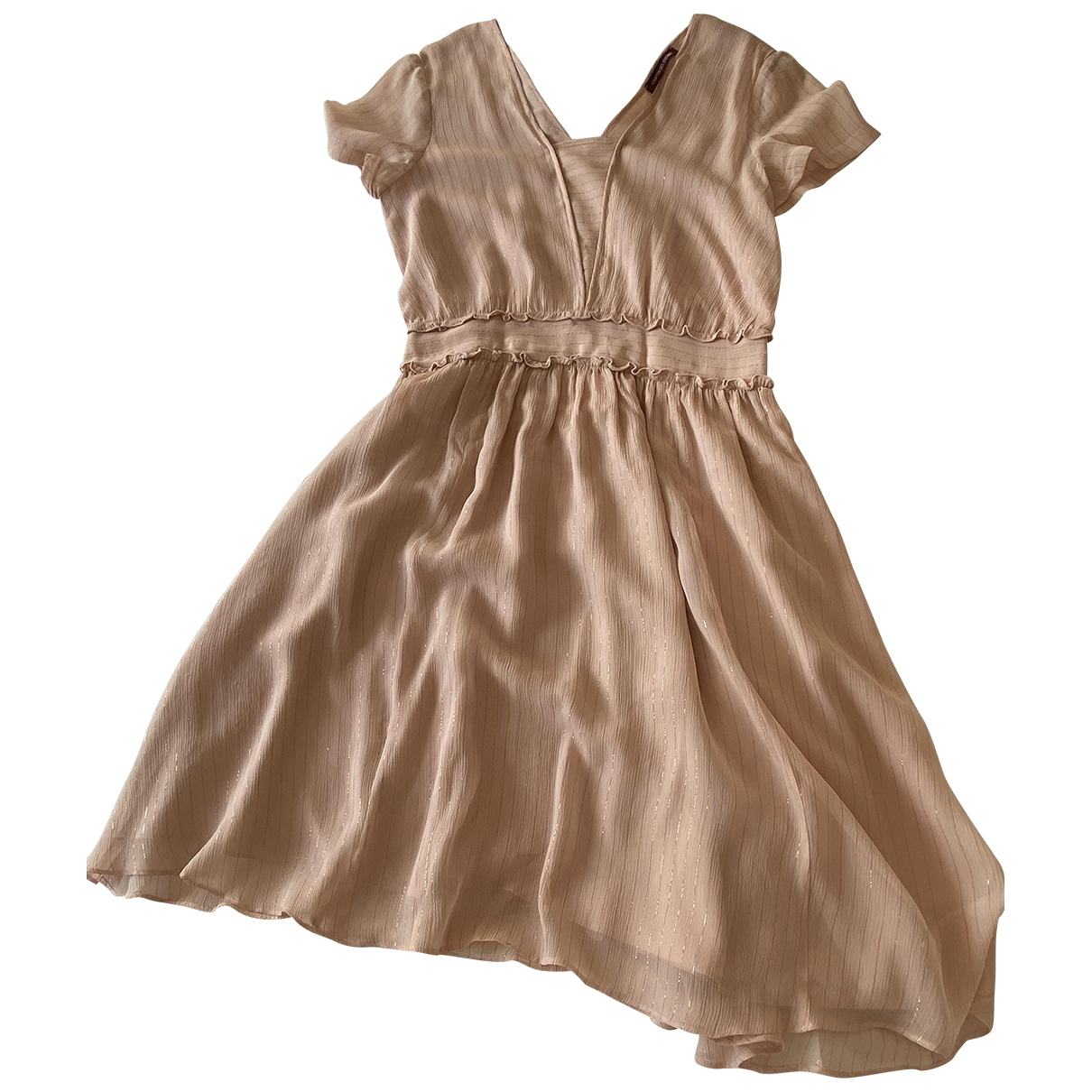 Comptoir Des Cotonniers \N Silk dress for Women 36 FR