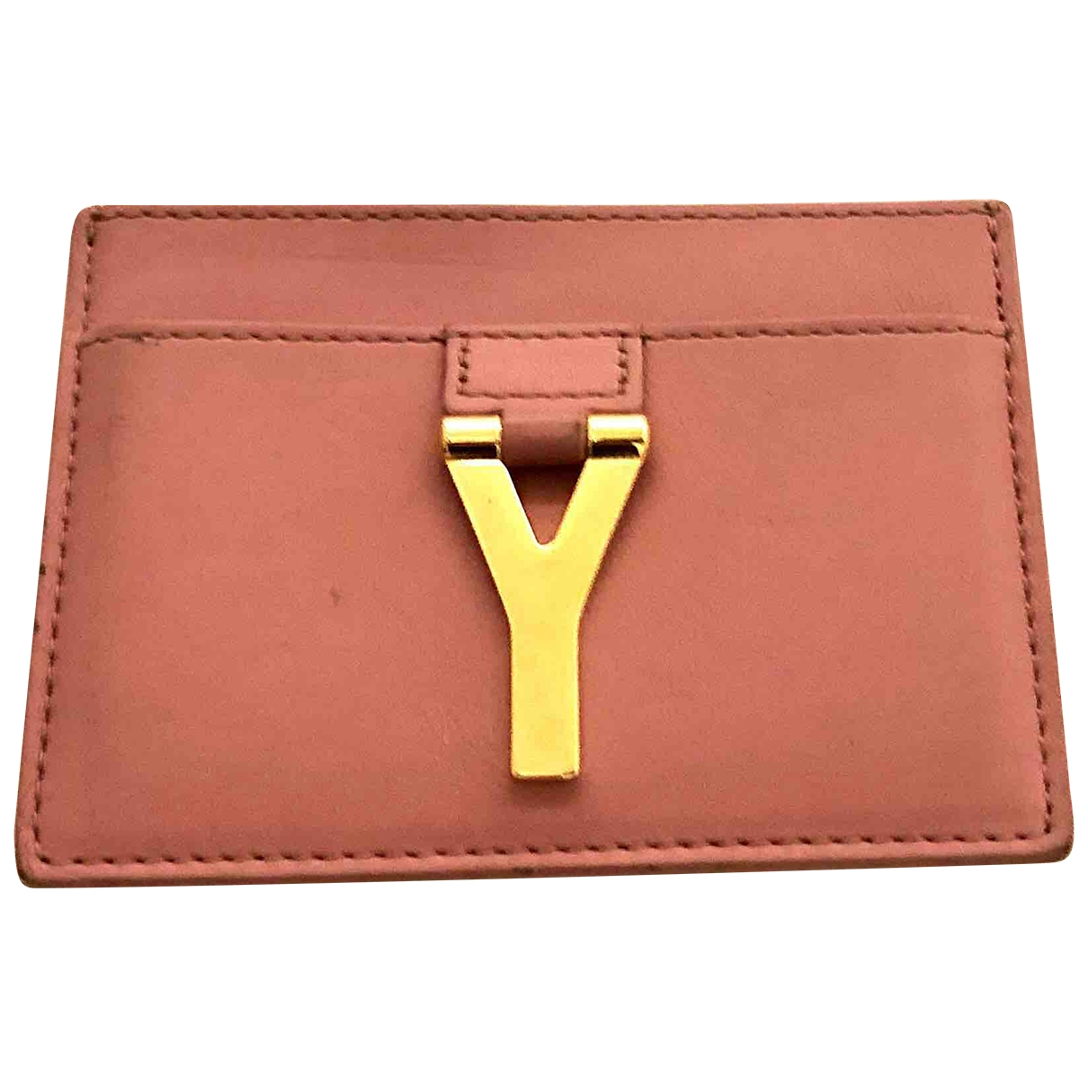 Saint Laurent Chyc Pink Leather Purses, wallet & cases for Women \N