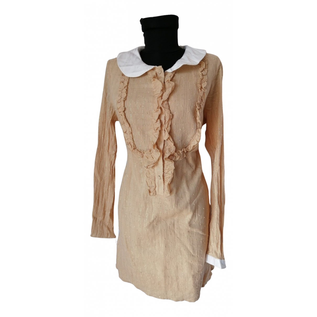 Erin Fetherston \N Kleid in  Gold Baumwolle