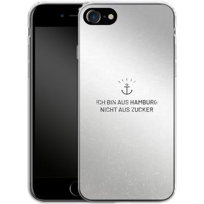 Apple iPhone 7 Silikon Handyhuelle - Ich Bin Aus Hamburg von caseable Designs