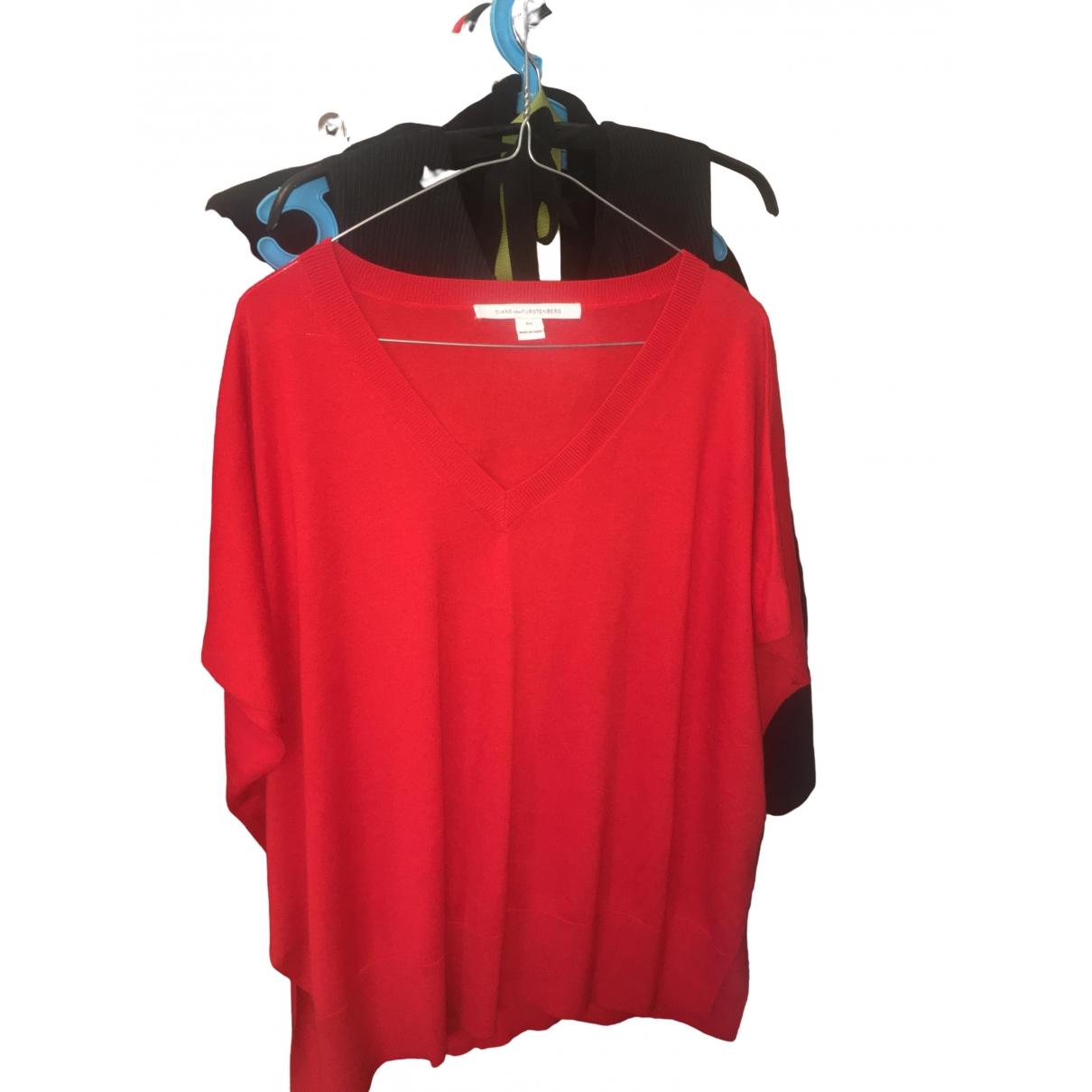 Diane Von Furstenberg \N Red Cashmere  top for Women One Size International