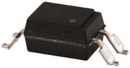 Isocom , TLP621SMT&R DC Input NPN Phototransistor Output Optocoupler, Surface Mount, 4-Pin SMD (1000)
