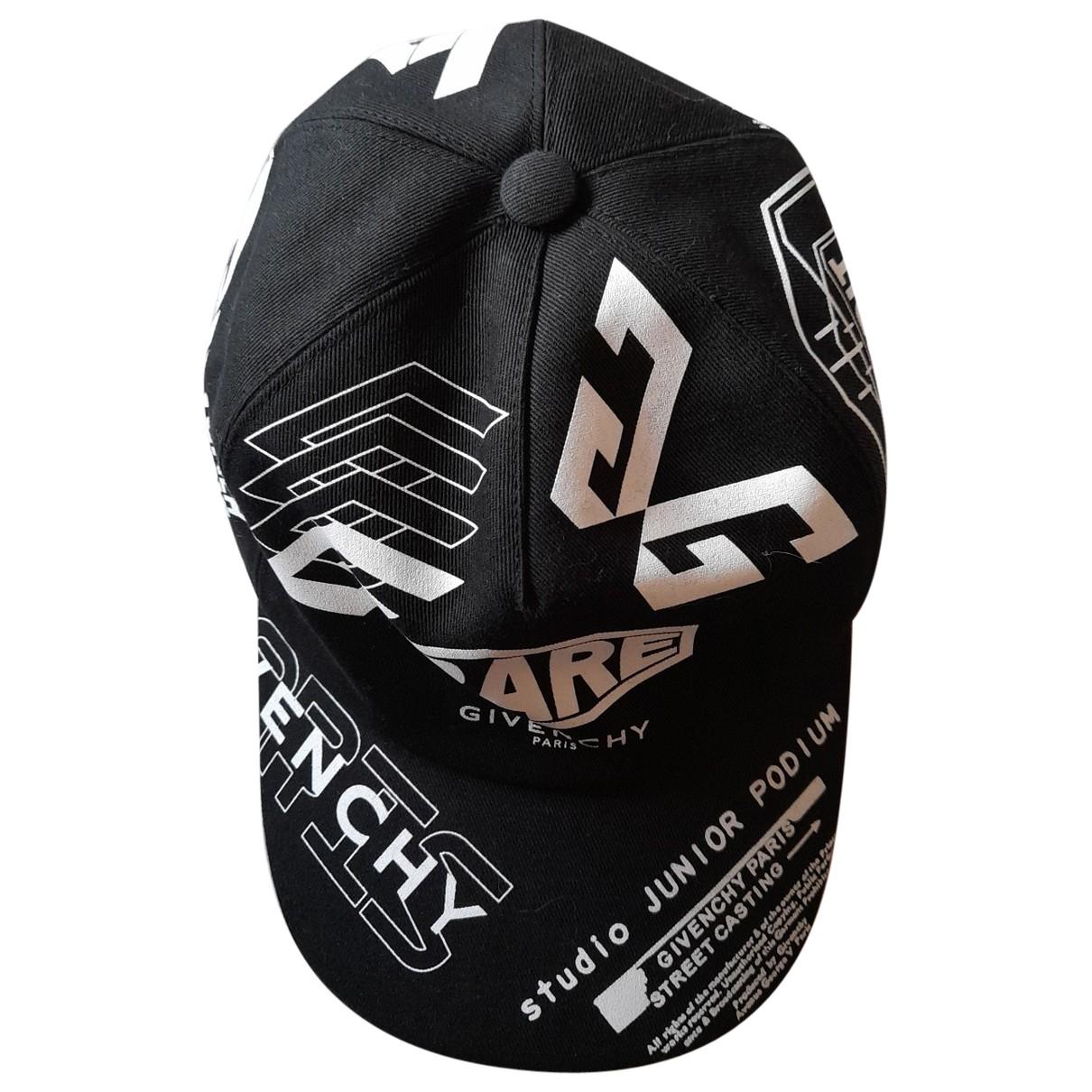 Givenchy \N Hut, Muetzen, Handschuhe in  Schwarz Baumwolle