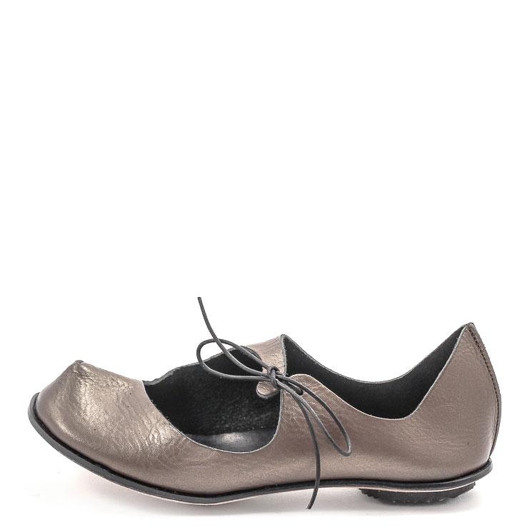 CYDWOQ, Dust Damen Ballerina, metall Grosse 36