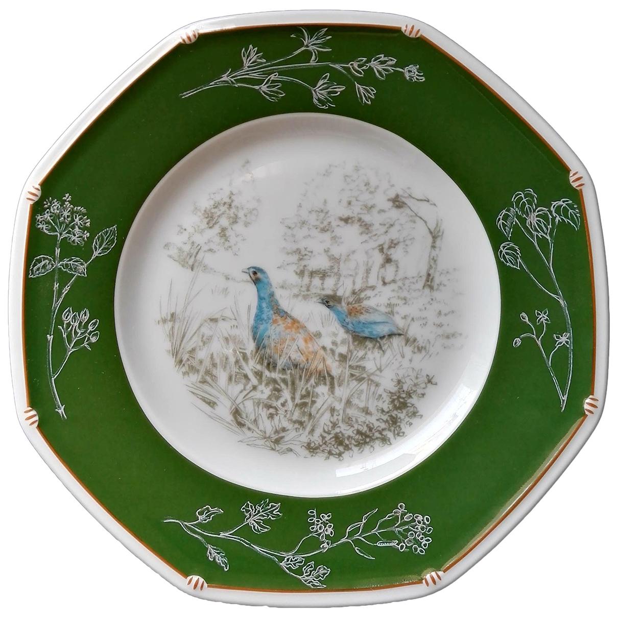 Hermes - Arts de la table   pour lifestyle en porcelaine - vert