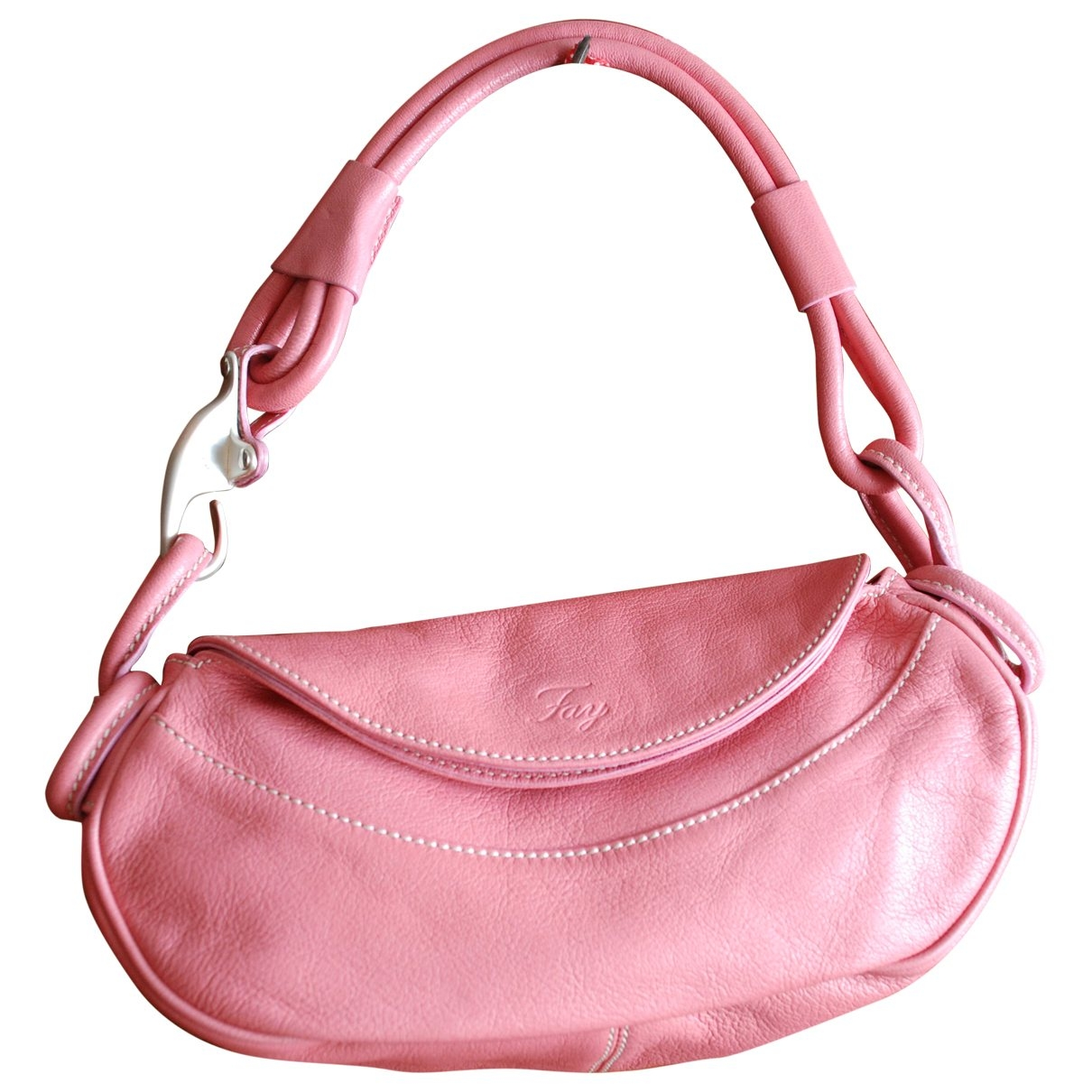Fay \N Pink Leather handbag for Women \N