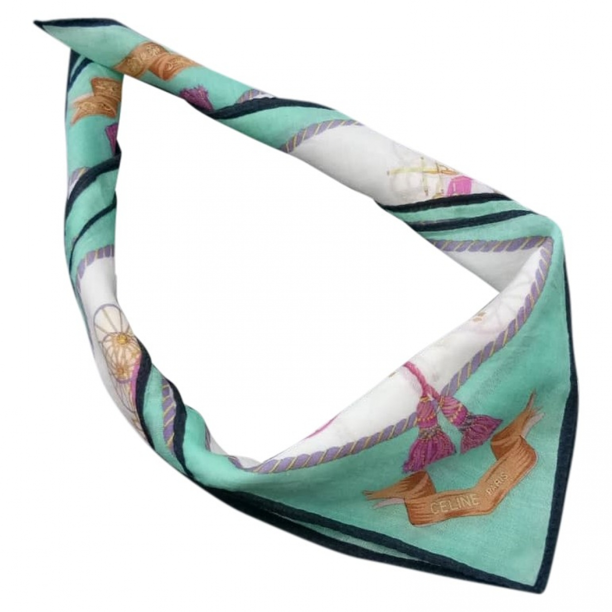 Celine \N Cotton scarf for Women \N