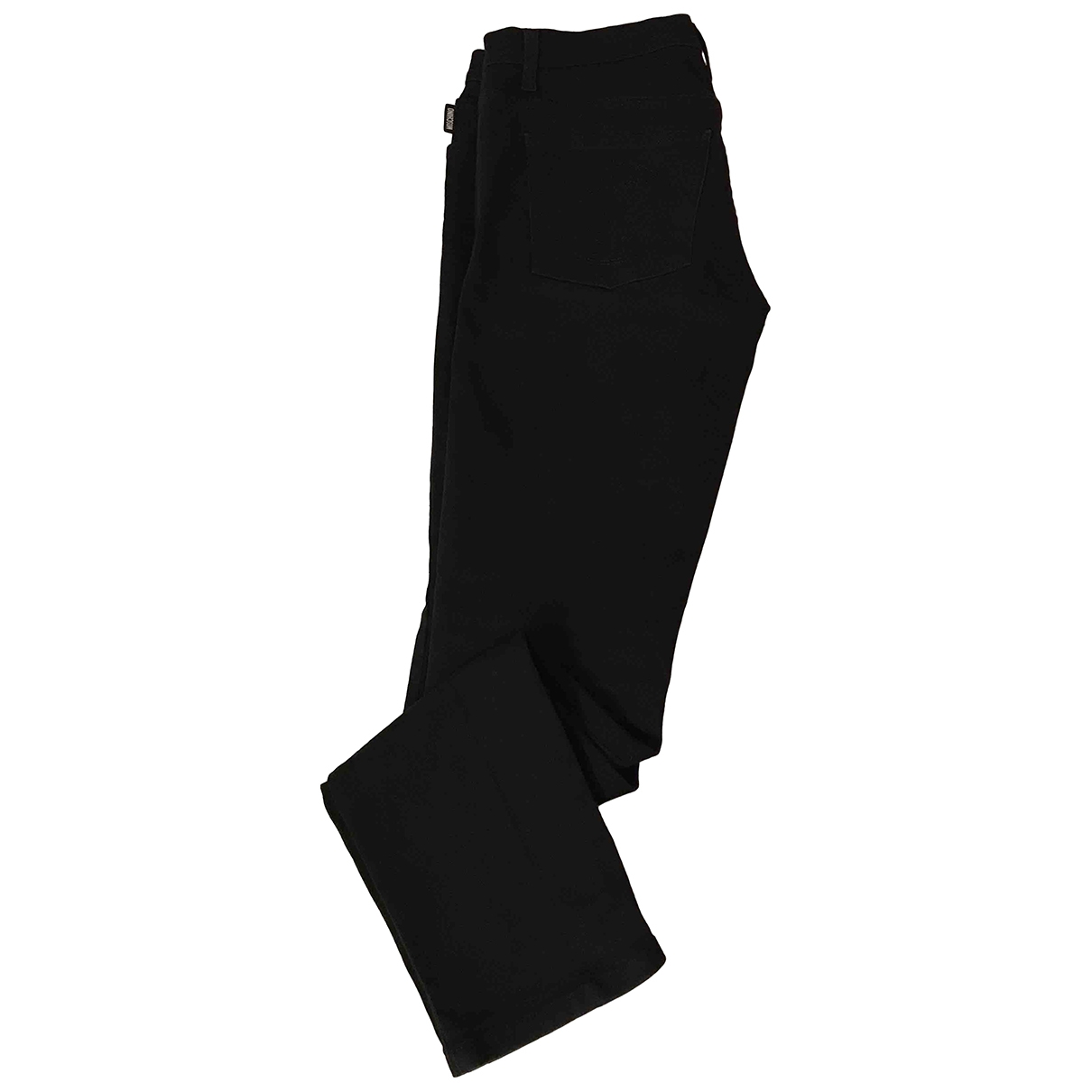 Moschino \N Black Cotton Trousers for Men 46 IT