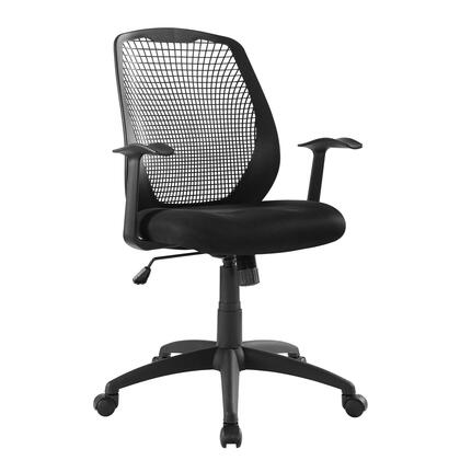 Intrepid Collection EEI-3193-BLK Mesh Office Chair in Black