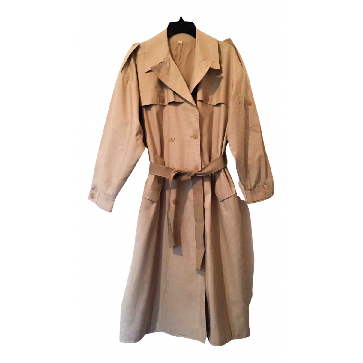 - Trench Oversize pour femme - beige