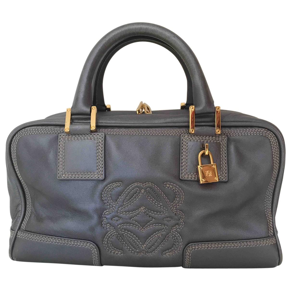 Loewe Amazona Metallic Leather handbag for Women \N
