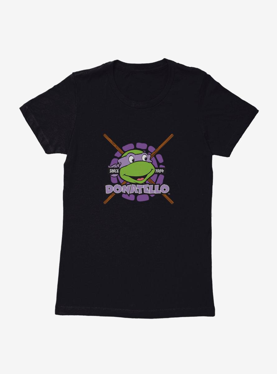 Teenage Mutant Ninja Turtles Donatello Smile Womens T-Shirt