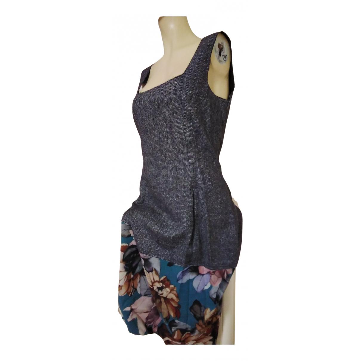 Dolce & Gabbana N Grey Wool dress for Women 44 IT