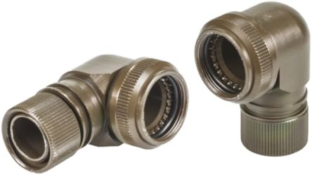 AB Connectors , ABACSize 09 Right Angle Backshell, For Use With MIL-DTL-38999 Connector Series III