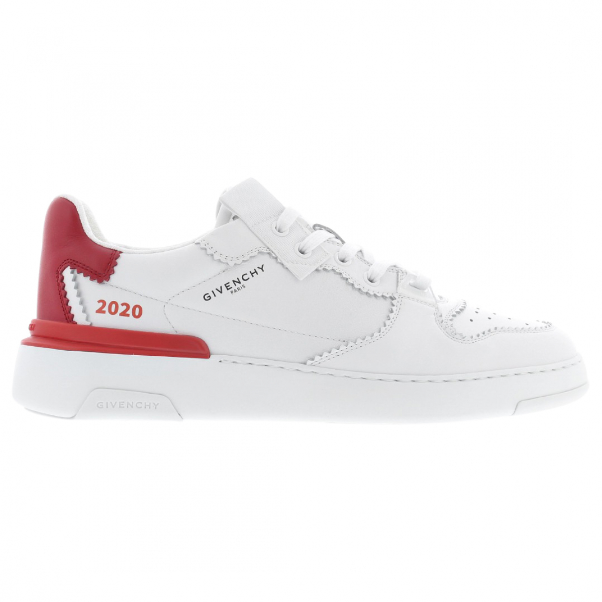 Givenchy \N Sneakers in  Weiss Leder
