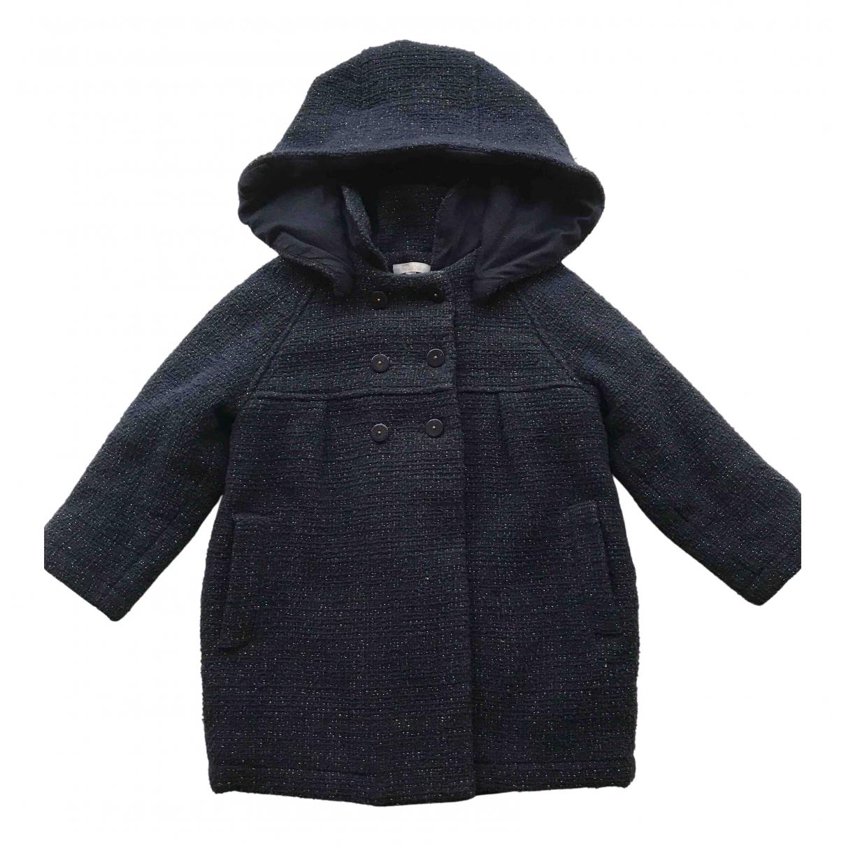 Chloe - Blousons.Manteaux   pour enfant en coton - marine