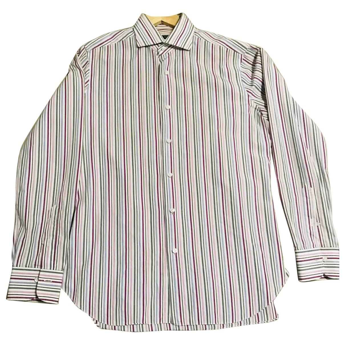 Barba - Chemises   pour homme en coton - multicolore