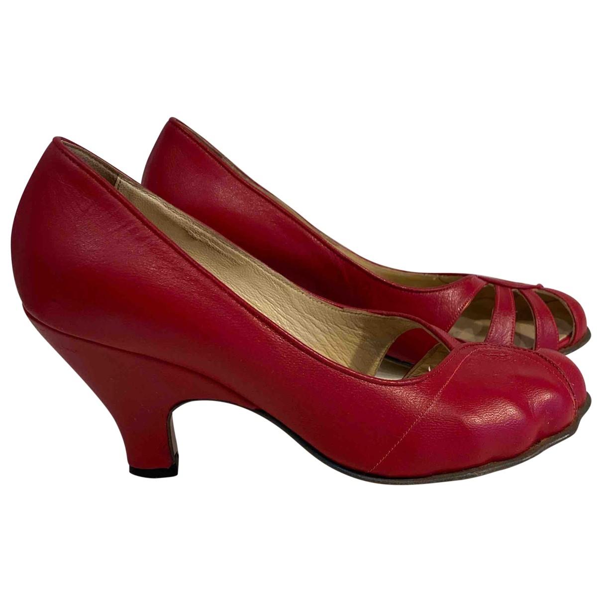 Vivienne Westwood \N Pumps in  Rot Leder