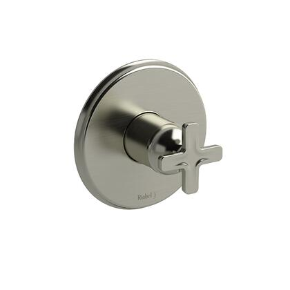 Momenti MMRD51XBN-SPEX Pressure Balance Complete Valve Pex with x Cross Handles  in Brushed