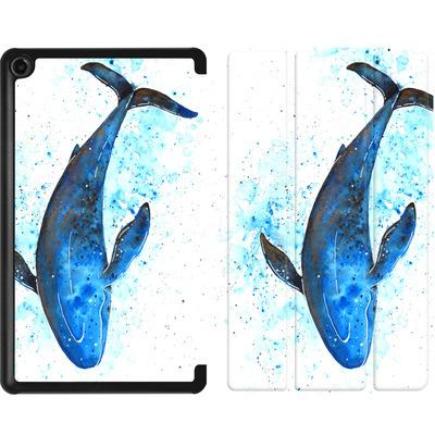 Amazon Fire 7 (2017) Tablet Smart Case - Whale Dive von Becky Starsmore