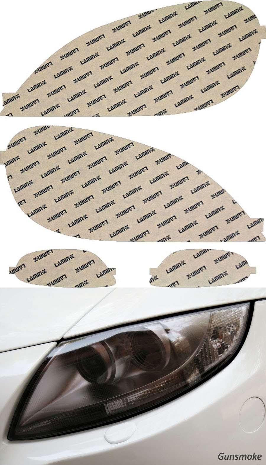 Mercedes M-Class 01-05 Gunsmoke Headlight Covers Lamin-X MB011G