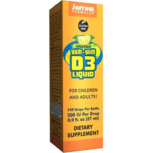 Yum-Yum D3 Liquid 27 ml by Jarrow Formulas