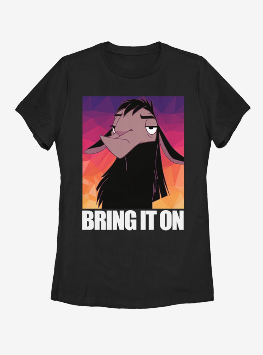 Disney The Emperor's New Groove Bring It On Womens T-Shirt
