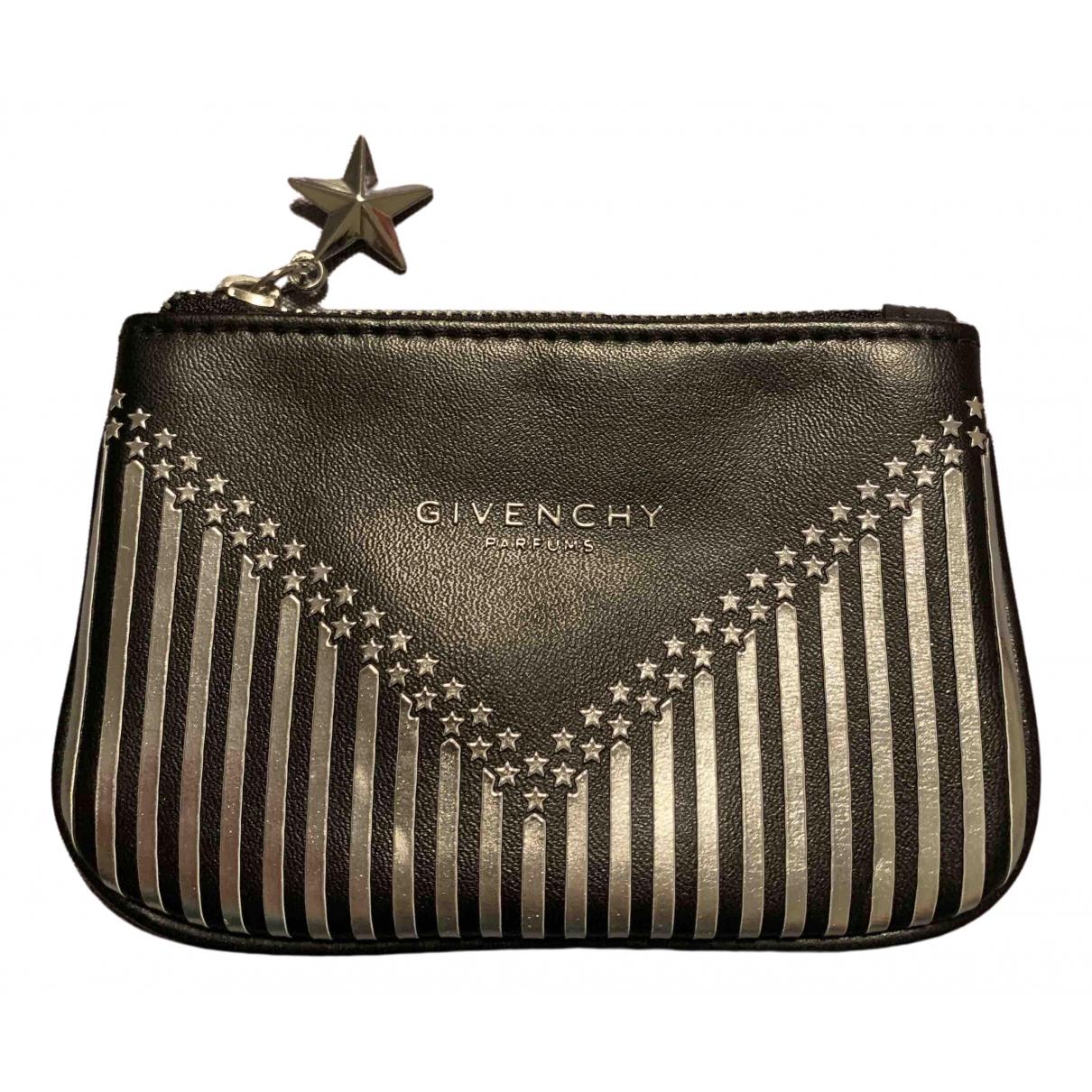 Givenchy \N Kleinlederwaren in  Schwarz Polyester