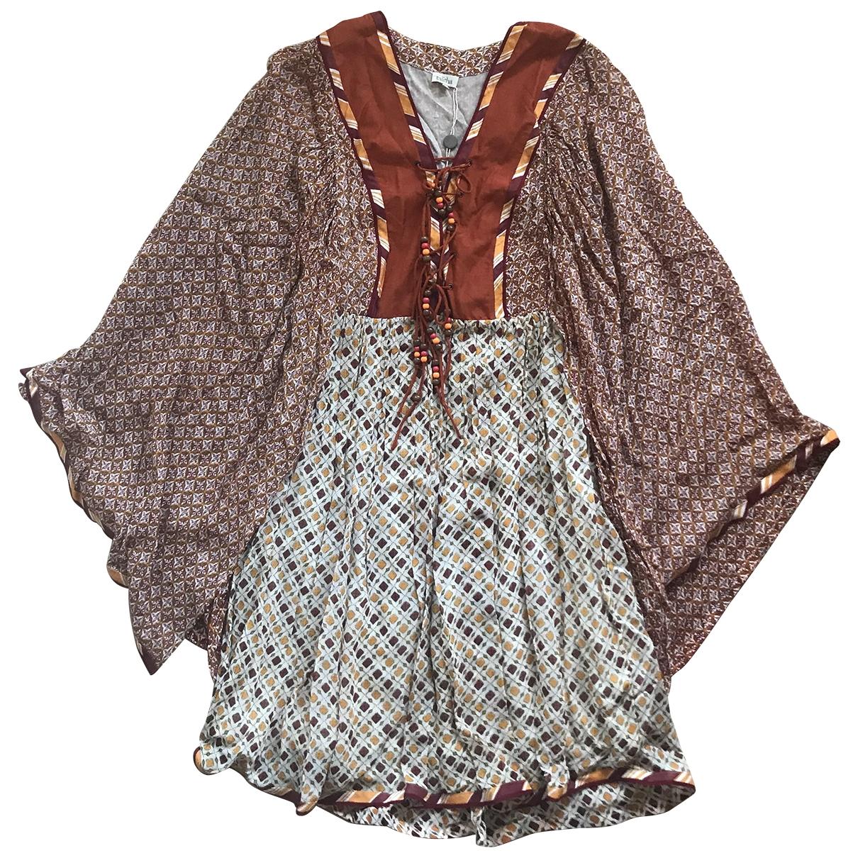 Mini vestido de Seda Talitha