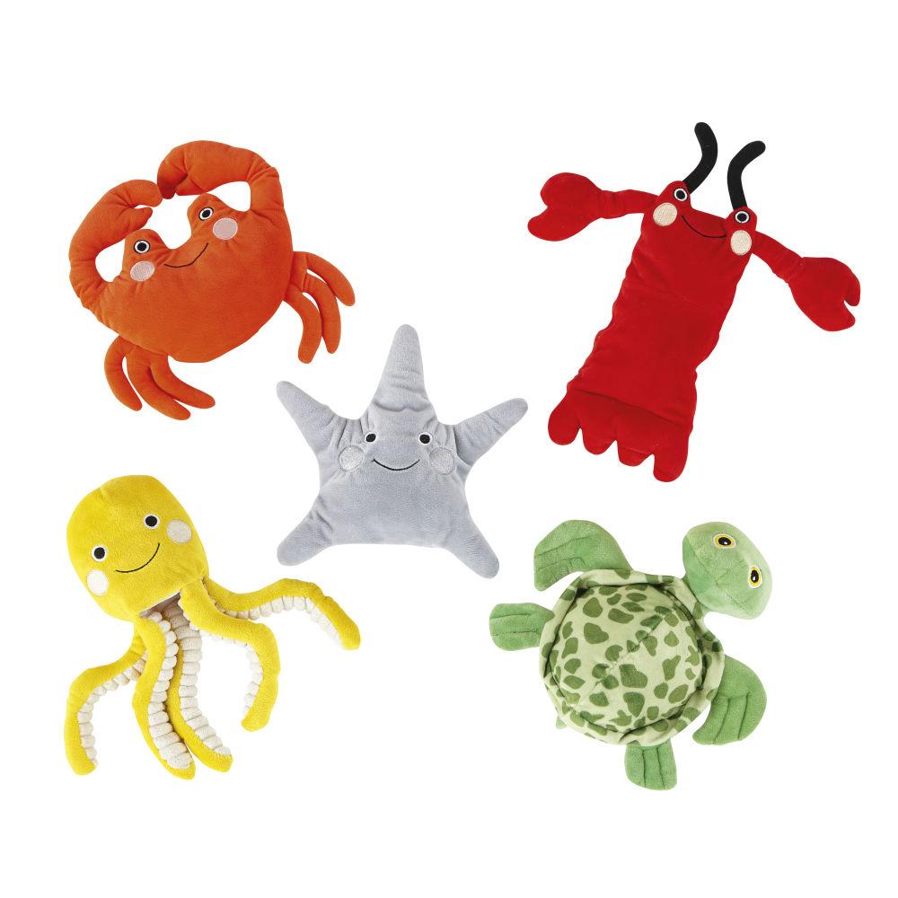 5 Marionetten Meerestiere