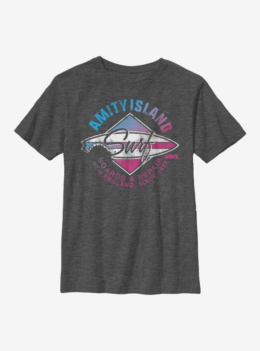 Jaws Shark City Youth T-Shirt