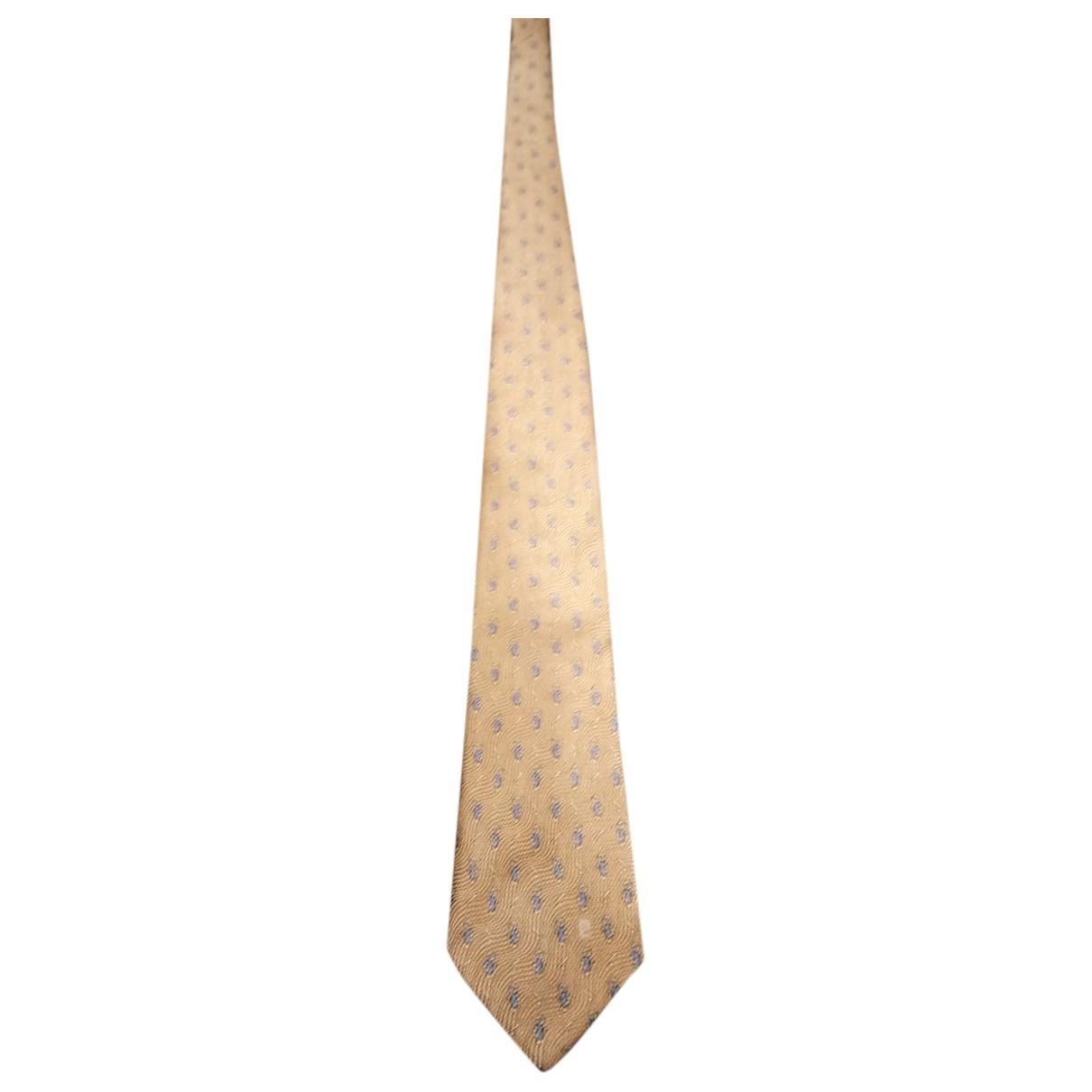 Pierre Cardin \N Krawatten in  Beige Seide