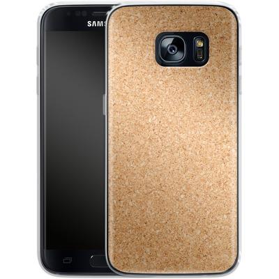 Samsung Galaxy S7 Silikon Handyhuelle - Cork von caseable Designs