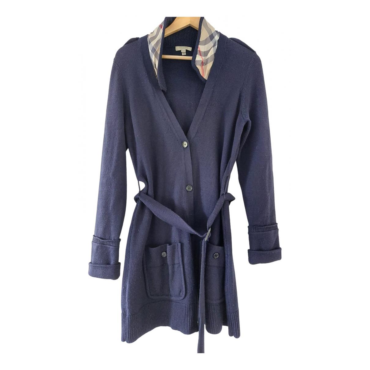 Burberry \N Blue Wool Knitwear for Women XL International