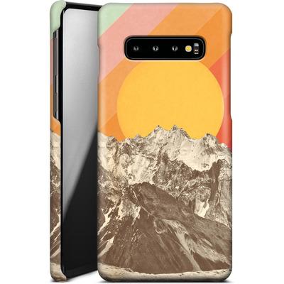 Samsung Galaxy S10 Plus Smartphone Huelle - Mountainscape von Florent Bodart