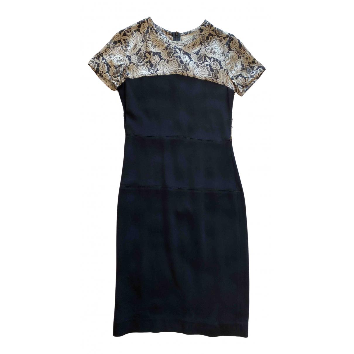 Stella Mccartney \N Black Silk dress for Women 36 IT