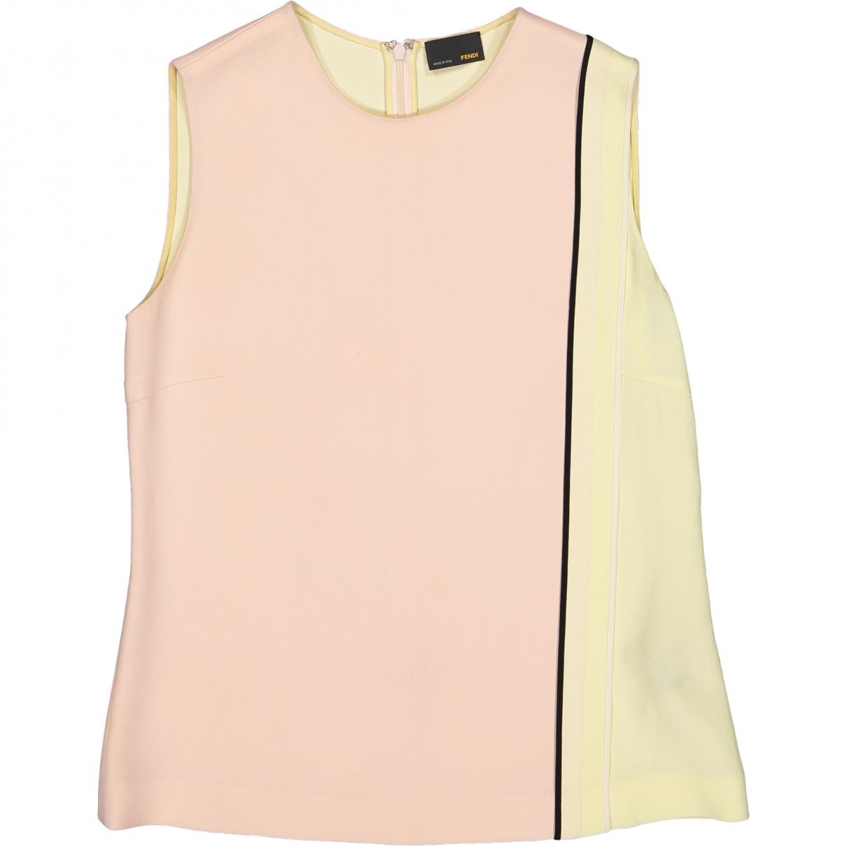 Fendi \N Pink  top for Women 40 IT