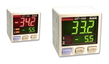 Panasonic Pressure Sensor for Non-Corrosive Gas , 1bar Max Pressure Reading Analogue + NPN-NO/NC
