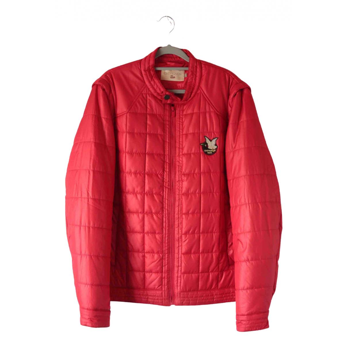 Chevignon \N Jacke in  Rot Polyester