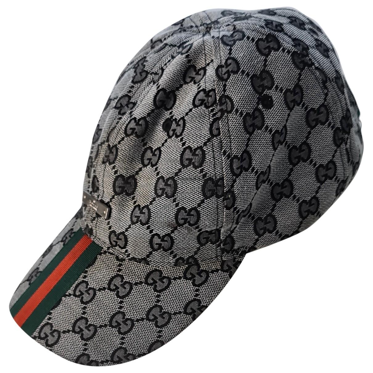 Gucci - Chapeau & Bonnets   pour homme en toile