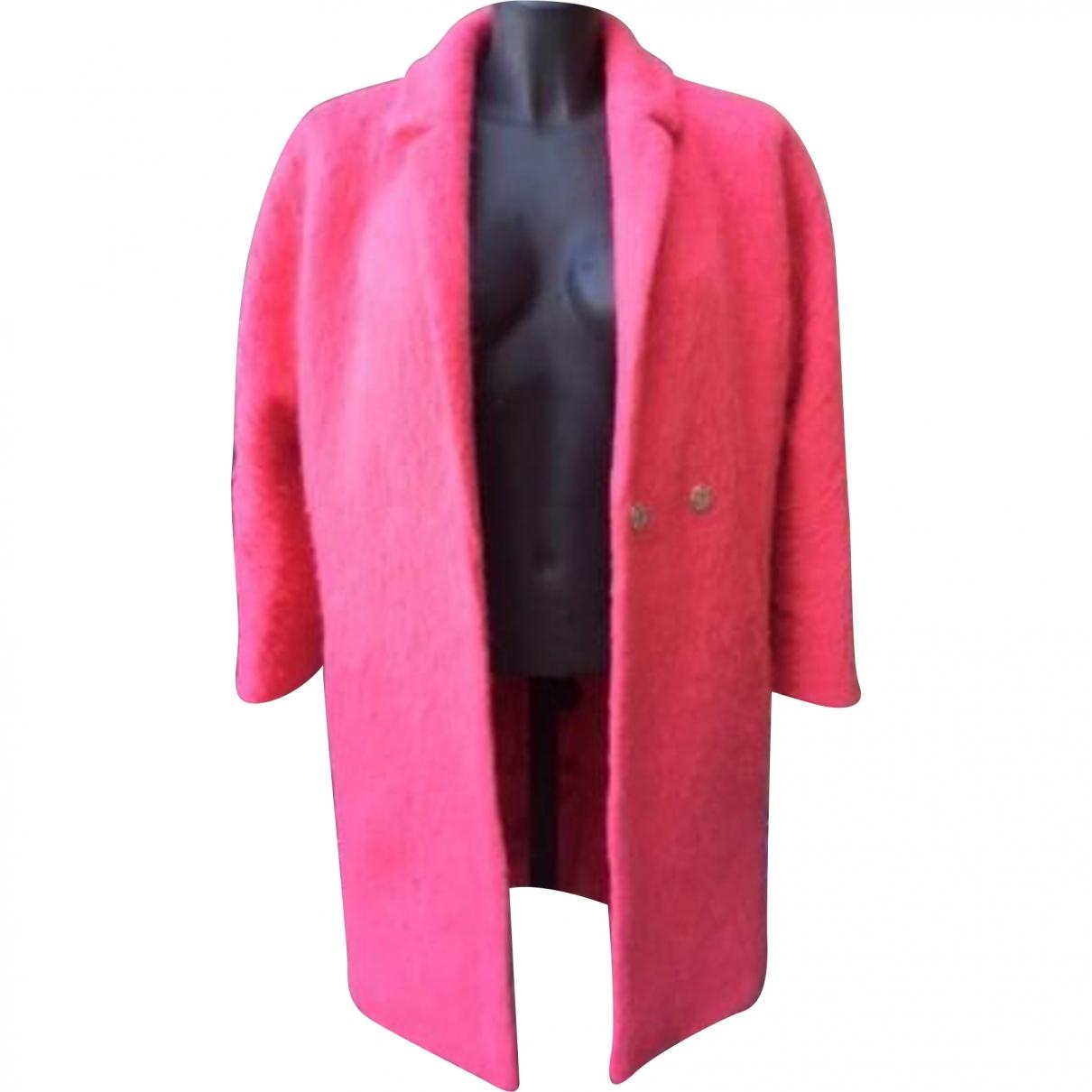 Whistles \N Pink Wool coat for Women S International