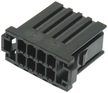 TE Connectivity , Dynamic 3000 Female Connector Housing, 3.81mm Pitch, 8 Way, 2 Row