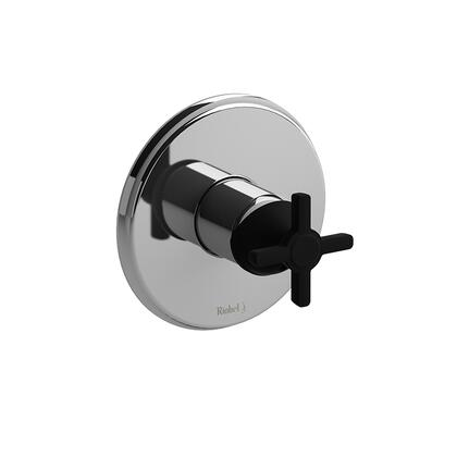 Momenti MMRD51+CBK-EX Pressure Balance Complete Valve Expansion Pex with Cross Handles  in