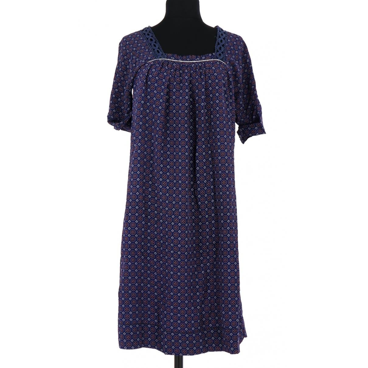 Sandro \N Kleid in  Lila Seide
