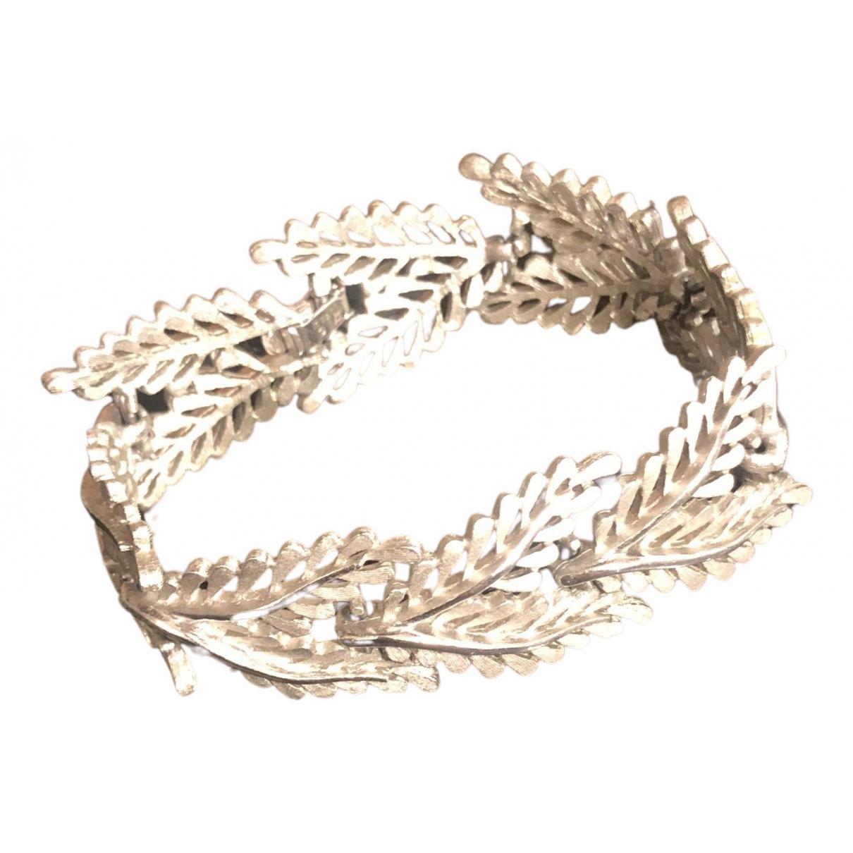 Trifari - Bracelet   pour femme en acier - argente