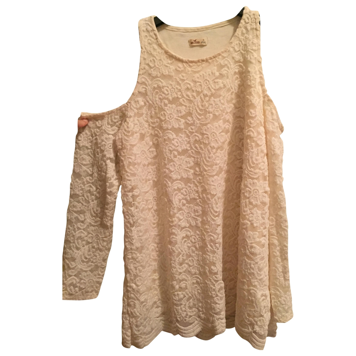 Non Signé / Unsigned \N Beige Cotton  top for Women XS International