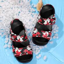 Toddler Boys Camo Print Velcro Strap Sandals