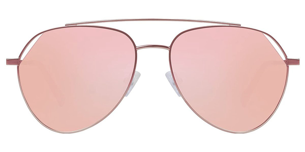 Hawkers All Rose Gold Blueljay BEV03 Men's Sunglasses Gold Size 59