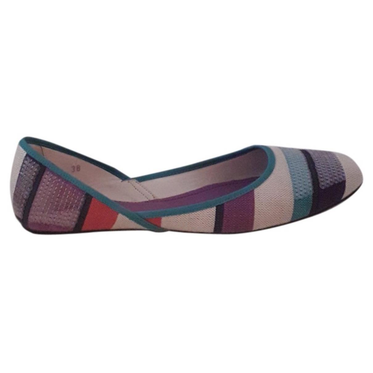 Hogan \N Multicolour Cloth Ballet flats for Women 38 EU