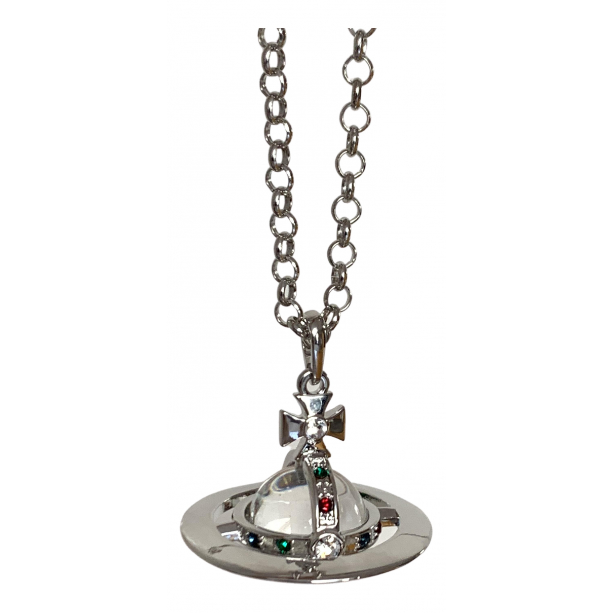 Vivienne Westwood - Pendentif   pour femme en metal - argente